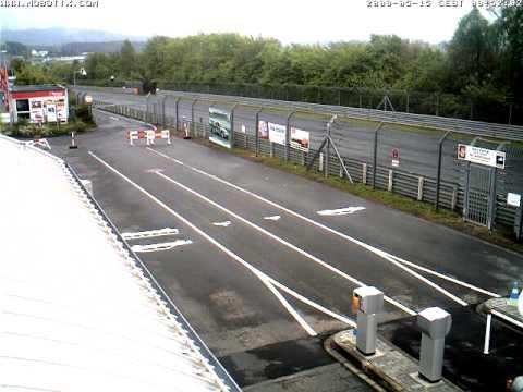 Nurburgring Webcam Timelapse taken 15th May 2009