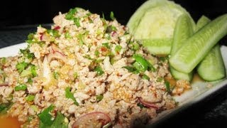 Larb / Laab (Northeast Thailand Style Meat Spicy Salad)