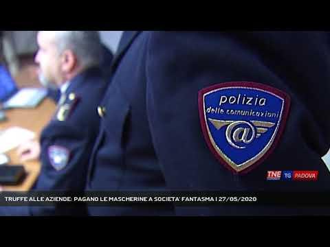 TRUFFE ALLE AZIENDE: PAGANO LE MASCHERINE A SOCIETA' FANTASMA   27/05/2020