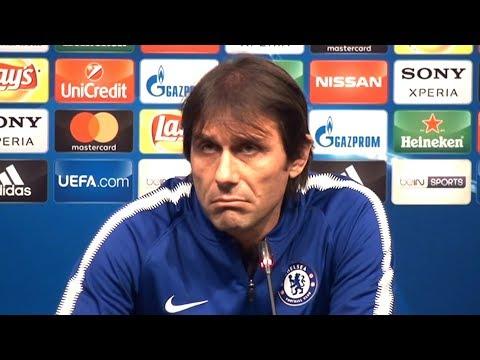Antonio Conte Full Pre-Match Press Conference - Barcelona v Chelsea - Champions League (видео)
