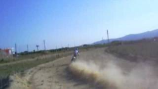 9. Jose Manuel Pellicer training Baja style with nex BMW G450X