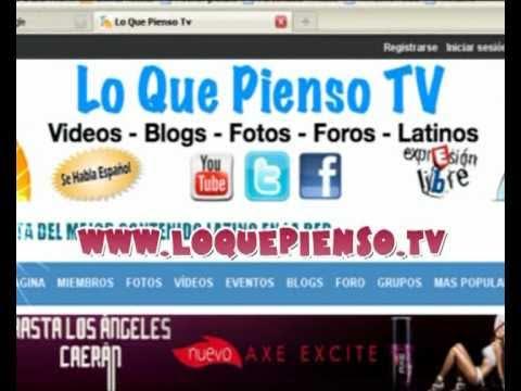 www loquepienso tv