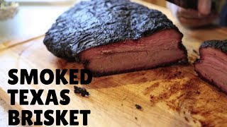 How to: Smoked Texas Brisket