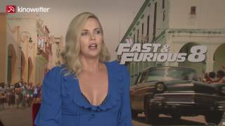 Nonton Interview Charlize Theron FAST & FURIOUS 8 Film Subtitle Indonesia Streaming Movie Download