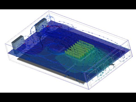Fast electronics cooling with ANSYS Icepak - from CAD