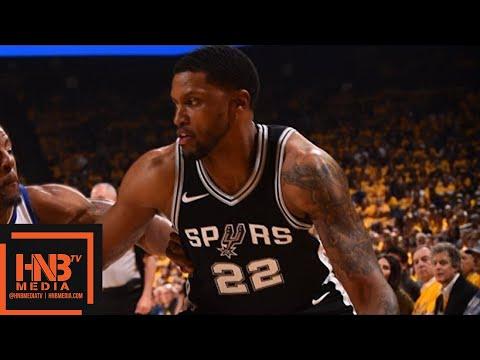 Golden State Warriors vs San Antonio Spurs Full Game Highlights / Game 5 / 2018 NBA Playoffs (видео)