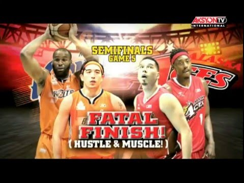 PBA Highlights - Meralco vs. Alaska May 04, 2016