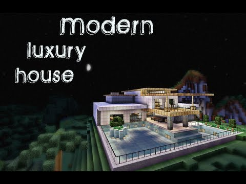 Minecraft- Modern Luxury House