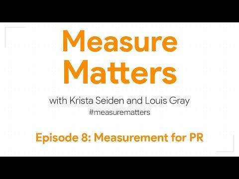 Measure Matters Episode 8: Measurement for PR