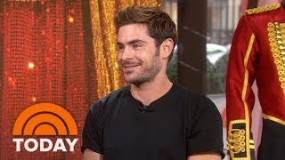Video Zac Efron Talks About New Movie 'The Greatest Showman' And Runs Into Ed Sheeran! | TODAY MP3, 3GP, MP4, WEBM, AVI, FLV April 2018