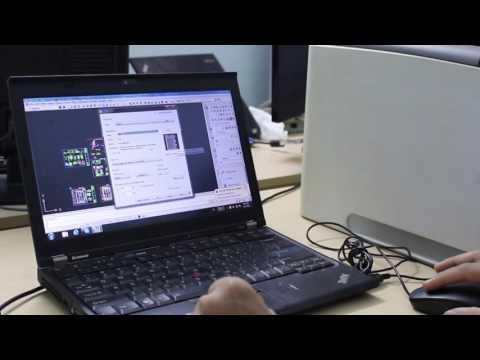 Video test tài liệu bản in auto cad bằng máy in canon lbp 3970