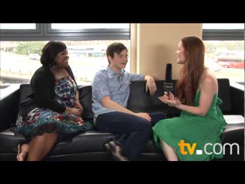 Glee members Kurt and Mercedes (видео)
