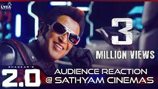 Video 2.0 Teaser - Audience Reaction @ Sathyam Cinemas | Rajinikanth | Akshay Kumar | Shankar MP3, 3GP, MP4, WEBM, AVI, FLV April 2019