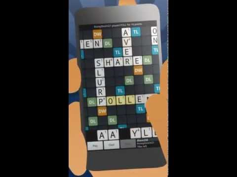 Video of Wordfeud