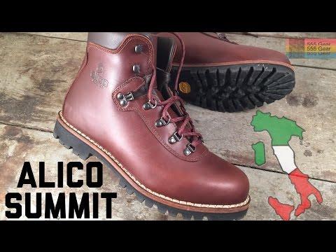 Alico Summit: Old School Italian Hiking Boots - 6