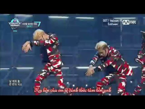 [Vietsub] GOT7 Special Stage - This Love (SHINHWA) (видео)