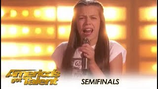 Courtney Hadwin: Howie Mandel PREDICTS This Girl Will Win AGT! | America's Got Talent 2018