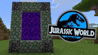 How To Make a Portal to the Jurassic World Dimension in Minecraft PE