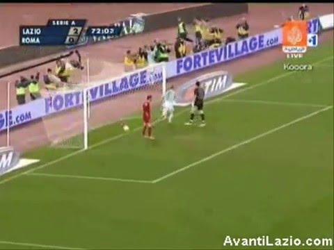 Goles del Lazio en el Derby de Roma