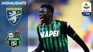Serie A, highlights Frosinone-Sassuolo 0-2