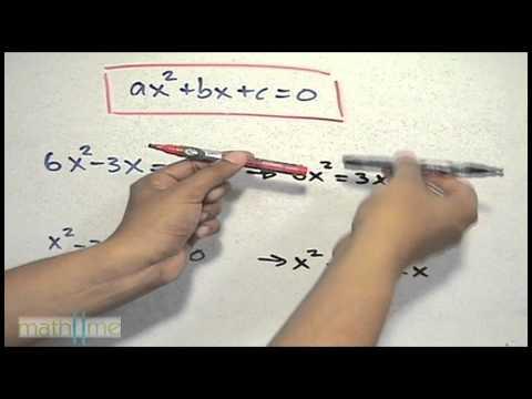 Warum ist eine quadratische Gleichung gleich Null? - HD