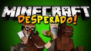 Minecraft: Desperado - TRAIN BANDITS w/ Generikb Part 2 (HD)