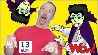 Video Halloween Songs and Stories for Kids from Steve and Maggie + MORE | Free Speaking Wow English TV MP3, 3GP, MP4, WEBM, AVI, FLV Februari 2019