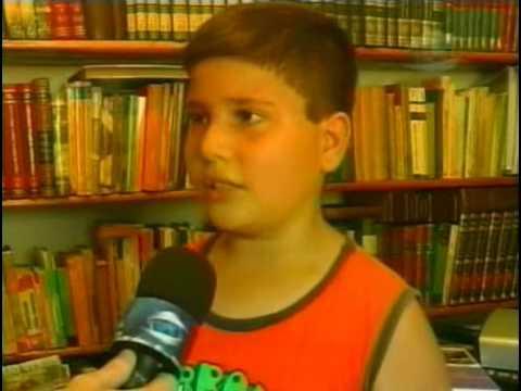 Ilha da Cultura vira Ponto de Leitura em Guaranésia - TV Sul Guaxupé - MG - 02-11-09