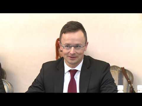 Президент Молдовы встретился с министром иностранных дел Венгрии