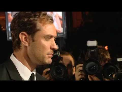 Boriboj - Jude Law meets fans, accepts an award and gives an interview at the Karlovy Vary IFF in the Czech Republic in July 2010.