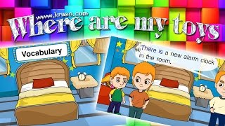 สื่อการเรียนการสอน Where are my toys ป.3 ภาษาอังกฤษ