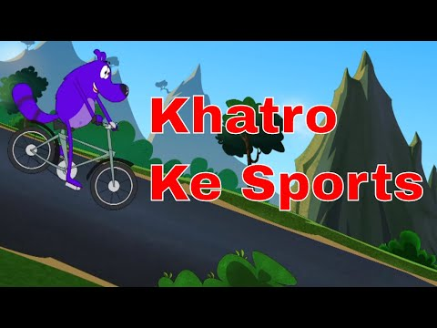 Pyaar Mohabbat Happy Lucky - Ep.46 | Khatro Ke Sports | Hindi Animated Cartoon Show | ZeeQ
