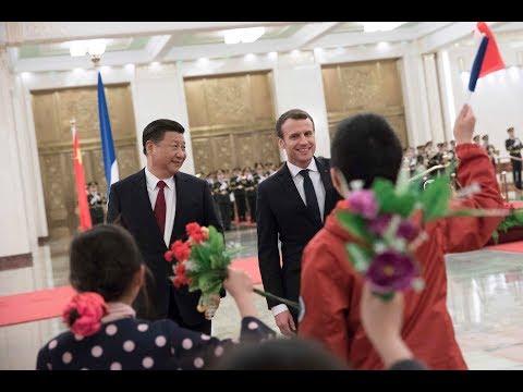PEKIN & SHANGHAI: Les enjeux de la visite d'État du Président Emmanuel Macron