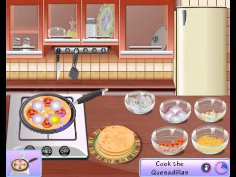 Sara Cooking Games Quesadilla Online Game