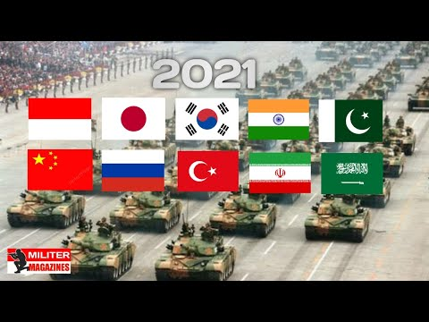 Bikin MerindinG..!! DERETAN 10 NEGARA MILITER TERKUAT DI ASIA 2021