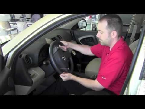 How To Unlock Steering Wheel >> 2011 Toyota Rav4 Steering Wheel Unlock How To By Toyota City