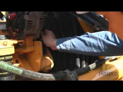 retro excavadora - Revisión básica diaria de Retroexcavadora John Deere.