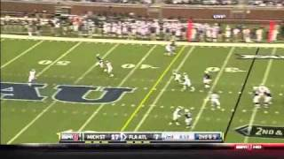 Rob Housler vs Michigan St (2010) vs Michigan State (2010)