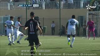 رجاء بني ملال 0-1 المغرب التطواني هدف عبدولاي سيسوكو في الدقيقة 16.