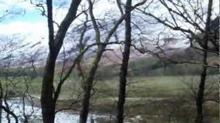 Killin United Kingdom  city pictures gallery : Acharn forest - Killin Scotland UK Part 1 - 3rd Apr12.MP4