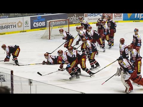 Děkovačka po utkání HC Dynamo Pardubice – Mountfield HK 1:4 (видео)