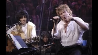 Rod Stewart  Maggie May Live Unplugged Video