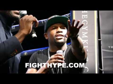 拳王梅威瑟嗆聲「我要復出打爆這個UFC巨星」,隔空口水戰多年的兩人終於要像個男人一樣打起來了!