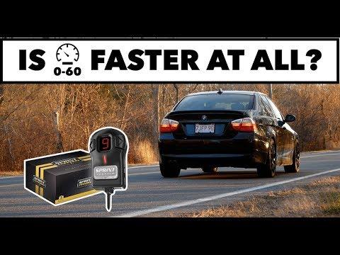 Sprint Booster 0-60MPH Test // N52 BMW