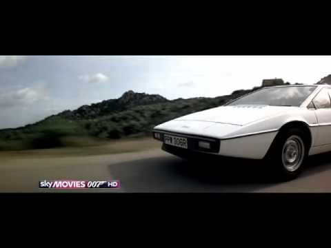 Sky Movies 007 James Bond Supercut Car Chase