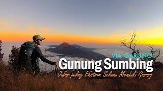 Download Video Gunung Sumbing Via Garung   Jalur Paling Ekstrim MP3 3GP MP4