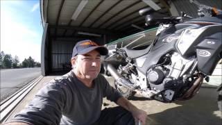 6. Rally Raid CB500X Tractive Suspension Tuning