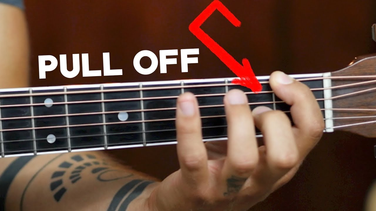 3 Secrets of GREAT Acoustic Guitar Pull-Offs
