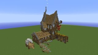 Let's Improvise a Minecraft House!