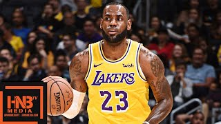 Los Angeles Lakers vs Sacramento Kings Full Game Highlights | 04.10.2018, NBA Preseason